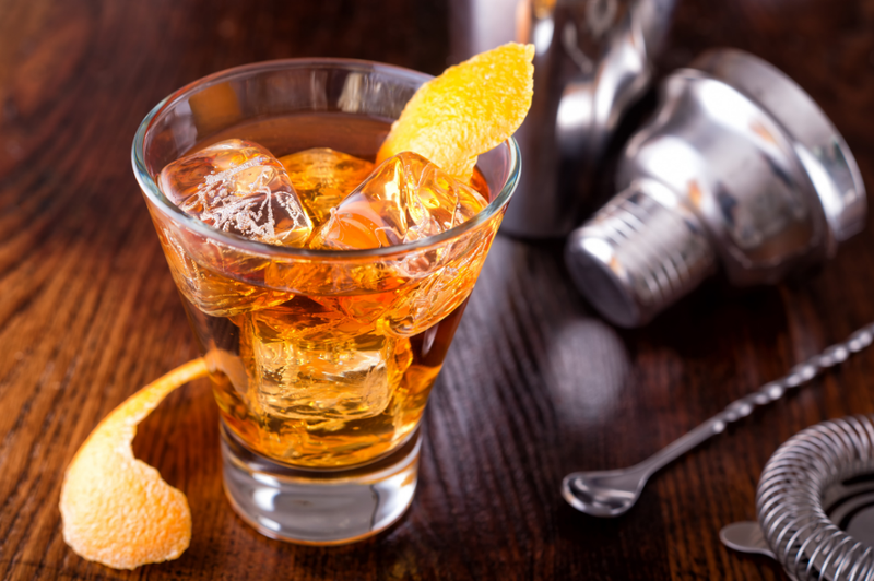 Winter Spice Old Fashioned